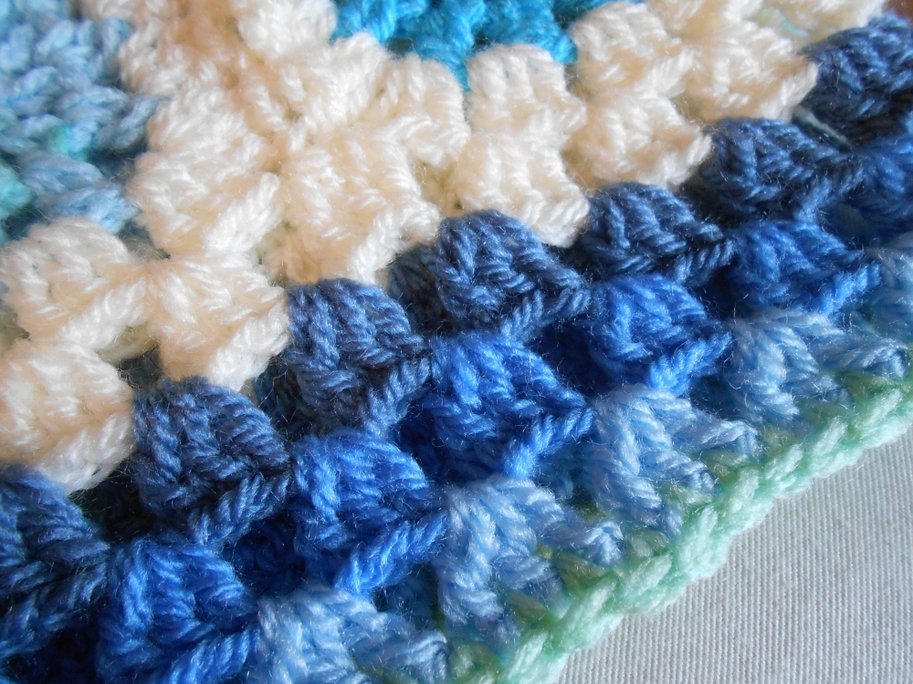 Baby boy blanket (4/6)