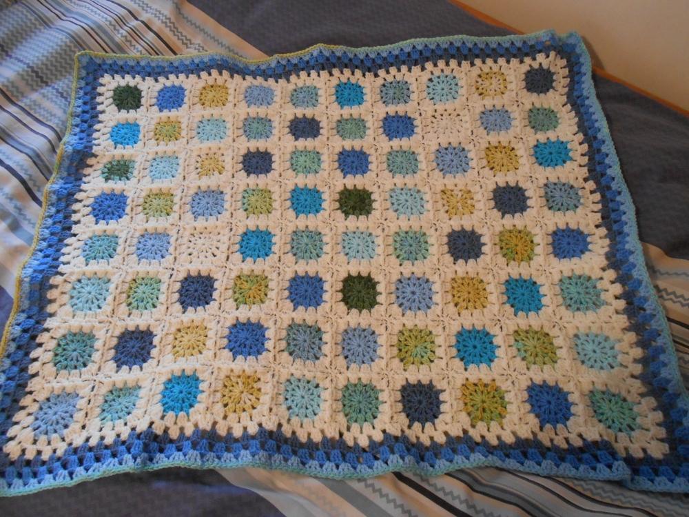 Baby boy blanket (6/6)