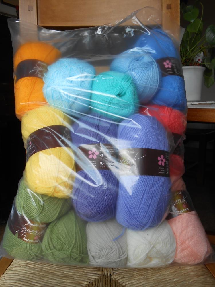 Stripy Blanket CAL #1 (1/5)
