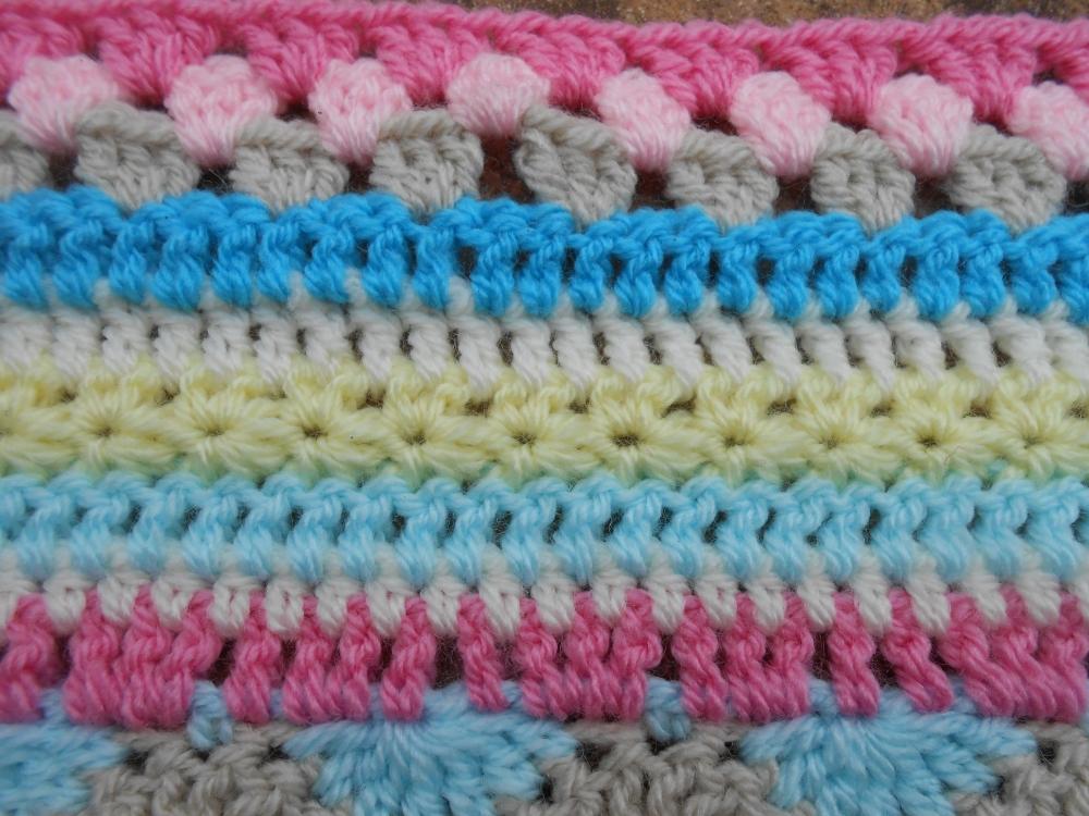 Stripy blanket CAL #3 (2/4)