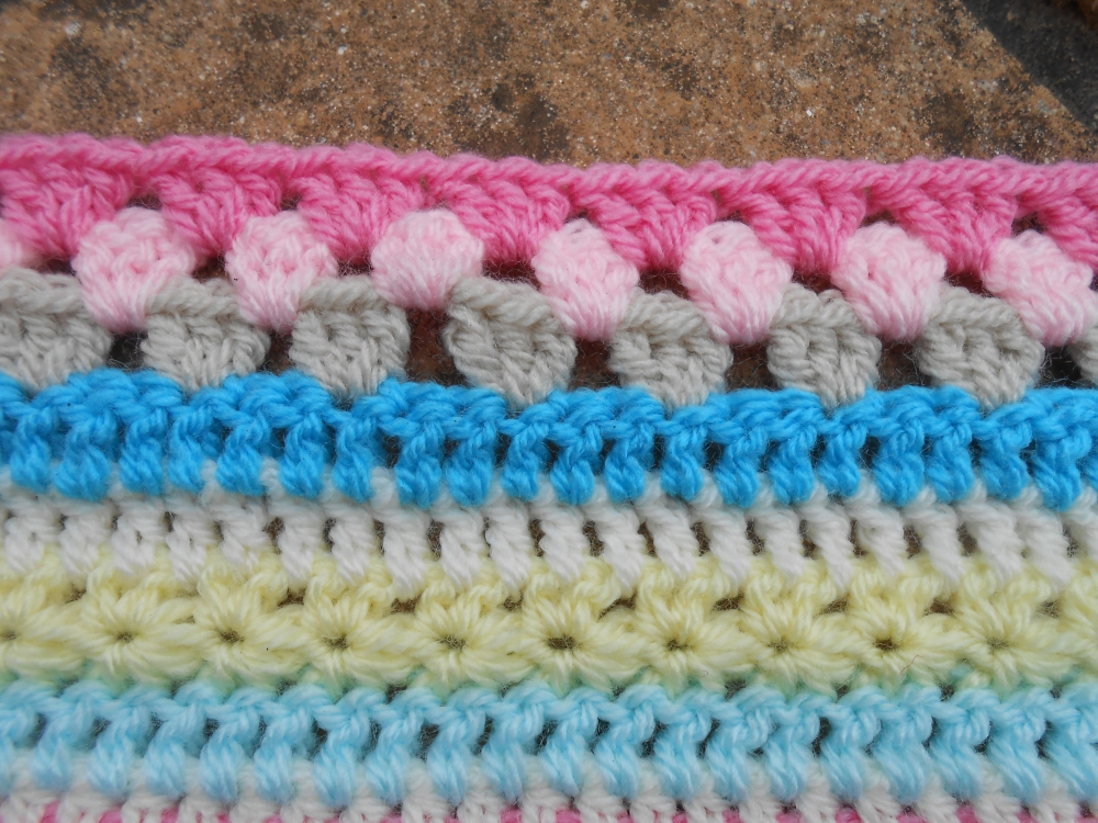 Stripy blanket CAL #3 (4/4)